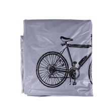 Waterproof Bike Motorcycle Rain Dust Cover Outdoor hoverboard Scooter Protector Gray For Bike Bicycle Cycling Snow Dust Cover(China)