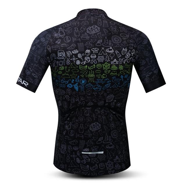 2020 Weimostar bisiklet Jersey mens mtb formalar yol bisikleti bisiklet gömlek kısa kollu Ropa Ciclismo maillot yarış siyah kırmızı
