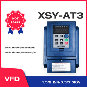 Image 1 - VFD 380V 4KW AC 380V 1.5kW/2.2KW/4KW/5.5KW/7.5KW napęd o zmiennej częstotliwości 3 fazy falownik do kontroli prędkości silnika falownik VFD