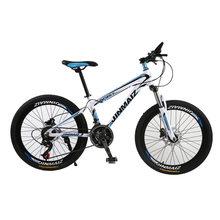 Adulto mountain bike 24 polegada 26 polegada 21 velocidade variável, absorção de choque, bicicleta de aço carbono