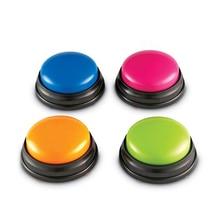 Кнопка для записи разговора, Детская интерактивная игрушка, фонограф, ответ на звонок, портативная запись, звуковая кнопка, вечерние шуммер...