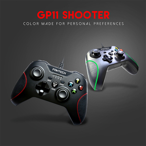 Image 3 - Fantech GP11 Gamepad LED Colorful lights Ergonomic design and vibration function For PS3 XIAOMIBOX PC Gamer