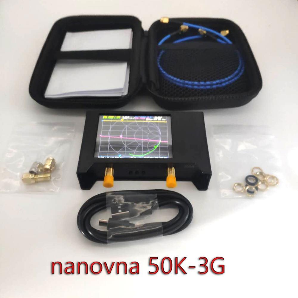 NanoVNA V2/ SAA2 3G версия VNA HF VHF UHF UV Векторный анализатор сети антенный анализатор с EVA сумкой для хранения