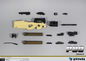 Image 5 - ZYTOYS ZY2011 1/6 P90 Gun Model for 12inch Action Figure DIY