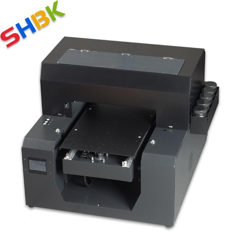 Многофункциональные УФ-принтеры цилиндрический принтер для бутылок A3 планшетный печатная машина для чехол для телефона фото цветной