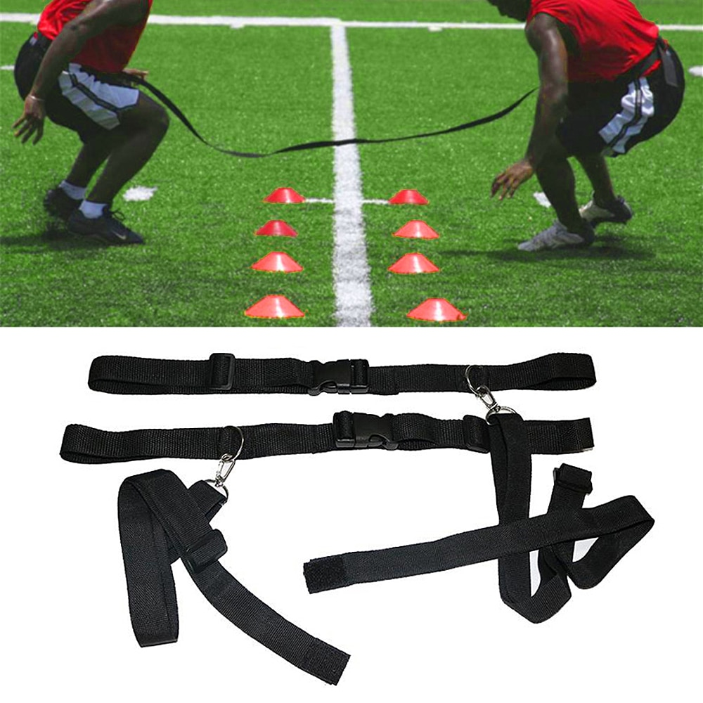 Children / Adults Basketball Football Soccer Agility Training Belt Sport Evasion Belt Defensive Speed Reaction Training Straps