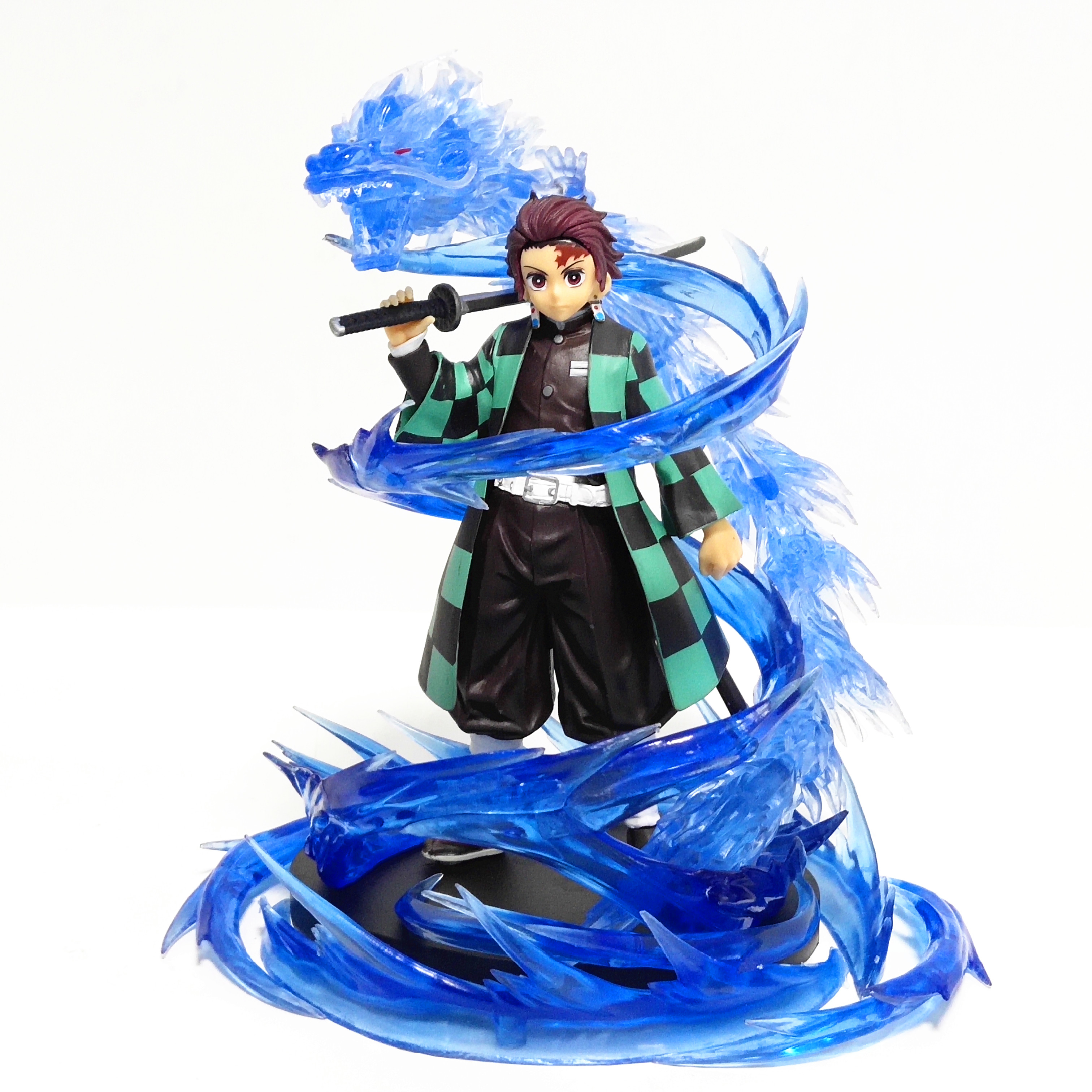 Demon Slayer PVC Action Figures Kamado Tanjirou Tenth Style The Dragon Of Change Anime Kimetsu No Yaiba Figurine DIY Model Toys