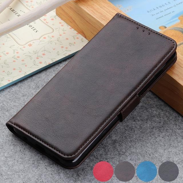 Luxury Magnetic Flip PU Leather Card Slot Wallet Cover Case For Sony XZ5 XZ4 XZ3 XZ2 Premium XA2 Plus L3 Xperia20/ Xperia 10/ Xperia 2/ Xperia 1 Coque Funda