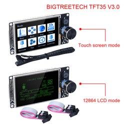 Bigtreetech tft35 v3.0 tela sensível ao toque de 3.5 polegada com wifi 12864 display lcd modo painel para mks skr v1.3 pro ender 3/5 placa 3d