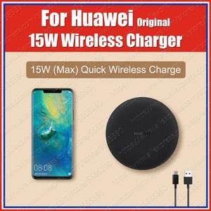 Image 1 - CP60 WPC Qi oryginalna bezprzewodowa ładowarka HUAWEI 15W UK Huawei P30 Pro Mate20 Pro dla iPhone XS XR 11 Samsung S20 S10 uwaga 10 Plus