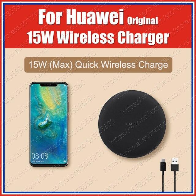 CP60 WPC Qi oryginalna bezprzewodowa ładowarka HUAWEI 15W UK Huawei P30 Pro Mate20 Pro dla iPhone XS XR 11 Samsung S20 S10 uwaga 10 Plus