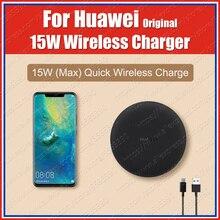 HUAWEI cargador inalámbrico CP60 WPC Qi Original, 15W, Reino Unido, Huawei P30 Pro, Mate20 Pro, para iPhone XS, XR, 11, Samsung S20, S10, Note 10 Plus