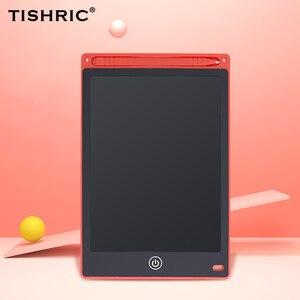 Image 1 - 12Polegada lcd tablet de escrita digital, tablet gráfico para desenho, prancheta para crianças, almofada de escrita digital, stylus para desenho