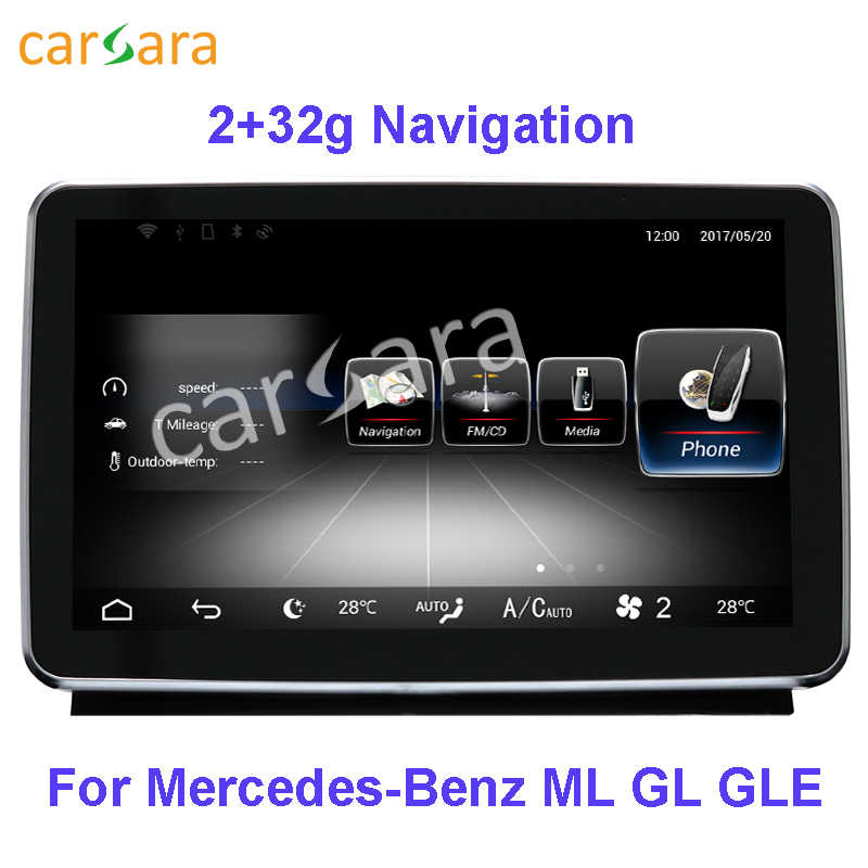 "8.4 ""Centrale Display 2G Ram 32G Rom Voor Mercedes Ml W166 Gl X166 2012 2013 2014 2015 gle 2016"