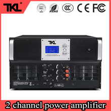 TKL PX series 8ohms 2ch power amplifier stage dj subwoofer double ring cattle professional amplifier