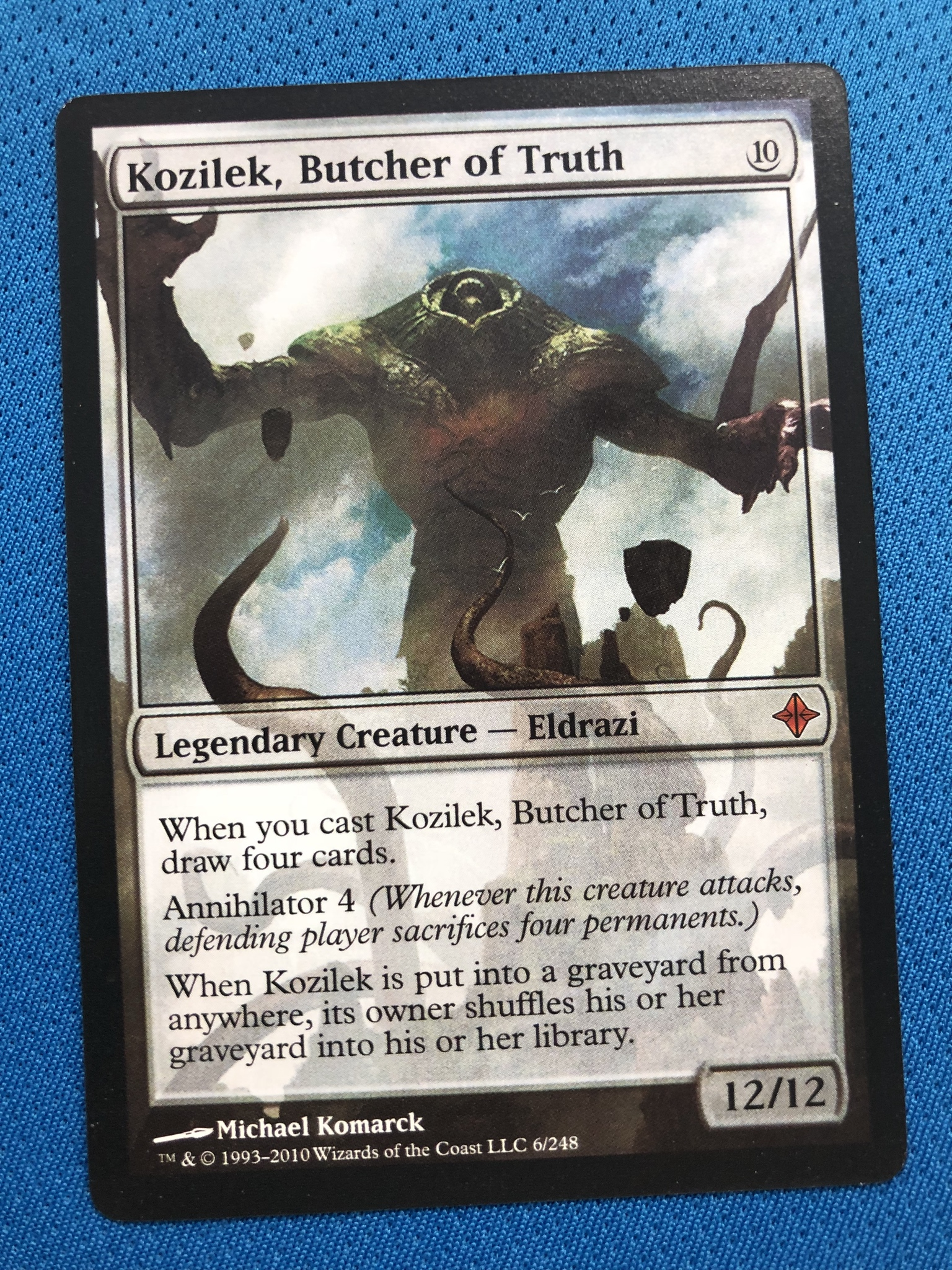 Kozilek, Butcher Of Truth  ROE (Rise Of The Eldra Magician ProxyKing 8.0 VIP The Proxy Cards To Gathering Every Single Mg Card.