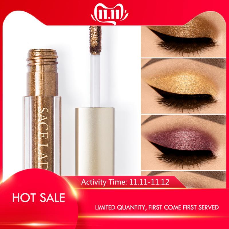 SACE LADY Glitter Liquid Eye Shadow Makeup Shimmer Eyeshadow Maquiagem Profissional Completa Make Up Cream Cosmetic TSLM1