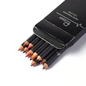 12 видов цветов/набор, карандаш для губ, сексуальная матовая губная помада, стойкий карандаш для губ, набор, красота, макияж, косметика, maquiagem