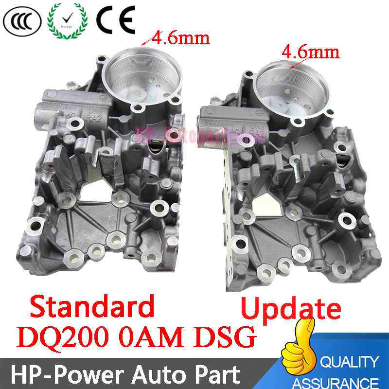 1 sztuk nowy DQ200 DSG 0AM z 4.6MM auto przekładnia obudowa akumulatora dla Audi VW 0AM325066R 0AM325066AC 0AM325066C