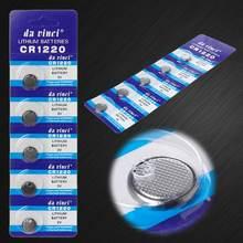 5 шт Литиевые кнопочные батарейки cr1220 155 в dl1220 br1220