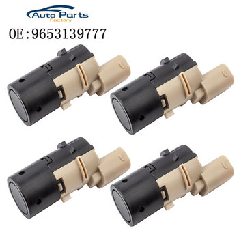 4 PCS PDC Parking Sensor For Peugeot Citroen Renault 307 308 SW CC 9653139777 9649186580 9643326380 659095 602775 9653139777 parking sensor pdc for peugeot 307 hatchback 3a 3c break 3e cc convertible 3b 308 sw 3h estate citroen c8 anti radar