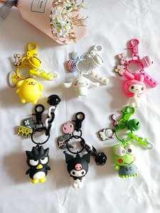 Bag Pendant Key-Chain Frog Penguin Dog Kuromi Melody Anime Hello-Kitty Big Cartoon Cute
