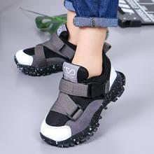 Chaussures de sport légères et respirantes pour enfants, baskets à la mode en maille pour garçons et filles, baskets de course à fond souple
