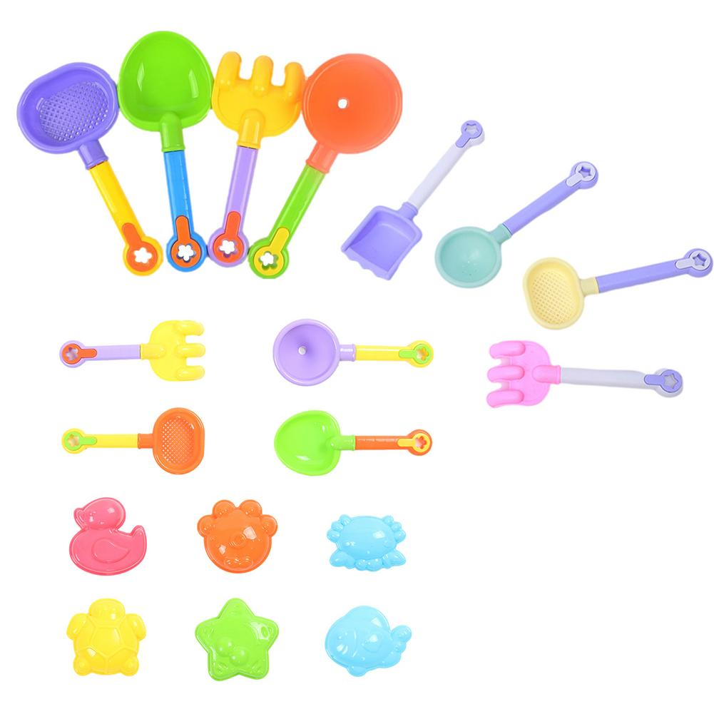 Children Beach Baby Toys Plastic Summer Digging Sand Tool With Shovel Water Game Play Outdoor Toy Set Sandbox For Boys Girls