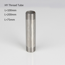 цена на Stainless Steel Male BSP Male Thread Pipe Fitting 1/8