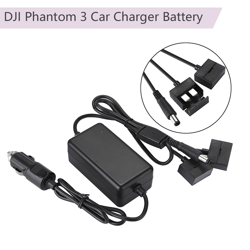 Outdoor Intelligent Car Charger Battery Fast Charger Remote Controller Smart Charging For DJI Phantom 3 Drone Camera Accessories