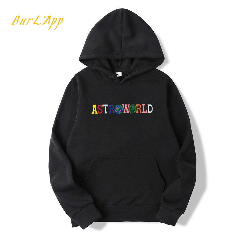 New TRAVIS SCOTT ASTROWORLD WISH YOU WERE HERE HOODIES Fashion Letter ASTROWORLD HOODIE Streetwear Man Woman Pullover Sweatshirt