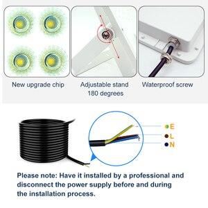 Image 3 - Led フラッドライト 30 ワット 50 ワット 100 ワット 200 ワット投光器ハニカム Led ライト屋外防水 IP66 Led リフレクター中庭正方形