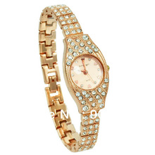 King Girl Women Gold Watches Luxury Crystal Quartz Wristwatches Fashion Dress Relogio Feminino