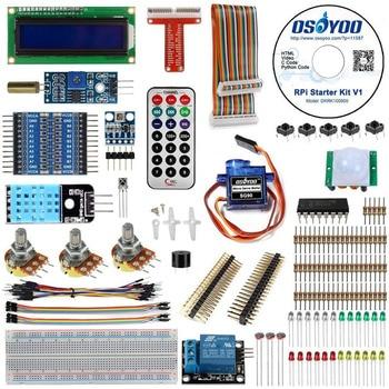 Raspberry Pi 3 Starter Kit Ultimative Lernen Suite HC-SR501 Motion Sensor 1602 LCD SG90 Servo LED Relais Widerstände