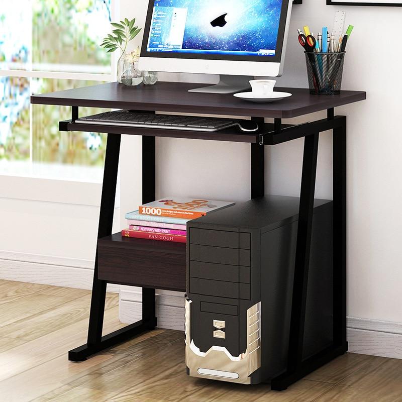 Computer Table Computer Desktop Table Home Office Desk Student Desk Bookshelf Combination Simple Small Table On Behalf
