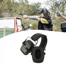 Electronic Shooting Ear Protector Earmuff For Impact Sport Anti-noise Hunting Amplification Tactical Hear Protective Headset