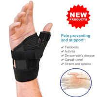 Wrist Support Brace Night Sleep Relief Carpal Tunnel Arthritis Left Right Hand