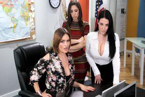 GirlsTryAnal  Abella Danger, Angela White, Krissy Lynn  Phone Service Skills