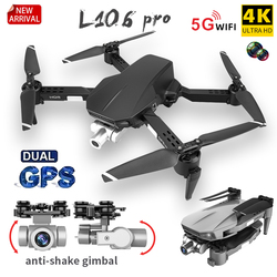 L106 Gps RC Drone HD 4K Camera Professional Aerial Photography Foldable Quadcopter Stable Anti-shake Two-axis Gimbal Kid's Gift