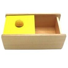 Когнитивная игрушка для сопряжения в форме руки и глаз, коробка для ввода шариков, Перманентная рамка, плетенная шариковая направляющая, подходящая по цвету Ga