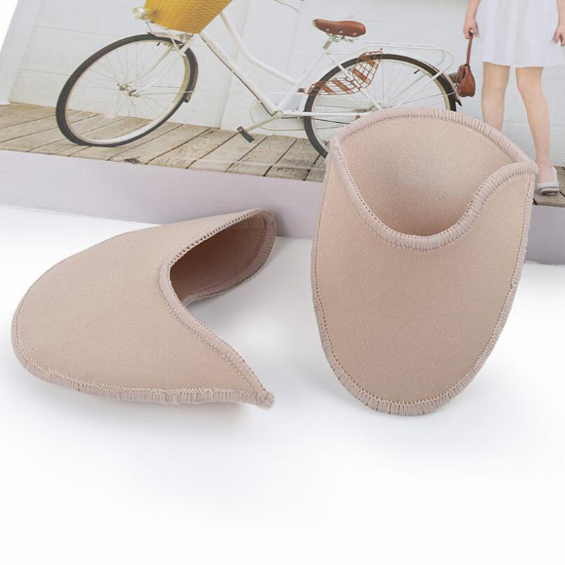 GAOKE Soft SEBS Toe Pads Foot Protector Shoes Forefoot Inserts Dancing Relieve Pain Fatigue Insoles For Ballet Pointe Ballerina