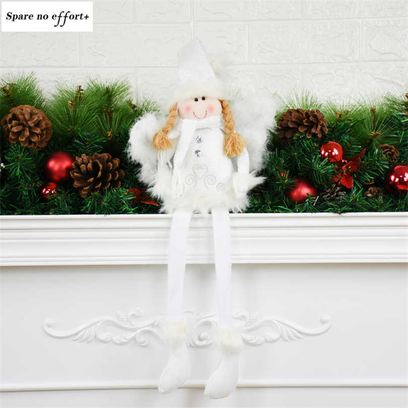 Christmas Tree Decorations Natal Angel
