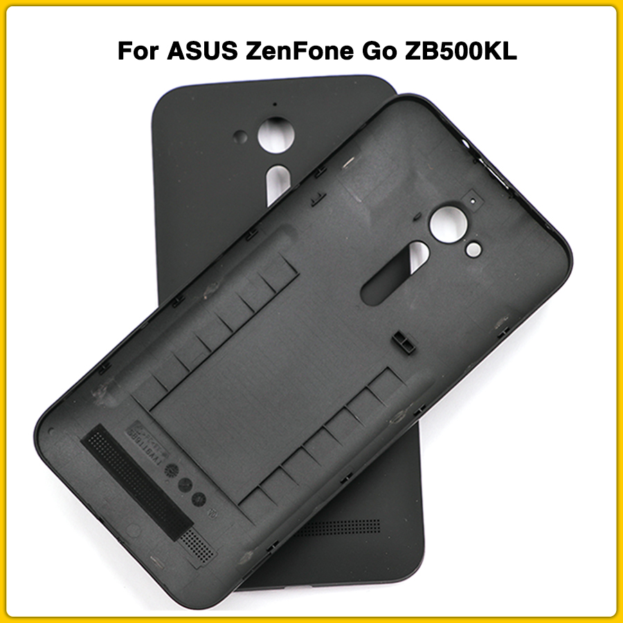 New Zb500kl Rear Housing Case For ASUS ZenFone Go ZB500KG ZB500KL Battery Back Cover Battery Door Rear Cover Replacement