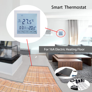 Image 5 - Beok 3 Designs Electric Heating Thermostat for Underfloor Heating System AC200 240V Weekly Programmable Thermoregulator