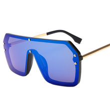 цена на 2020 New Fashion Colorful Sunglasses F Print Style UV 400 Anti-Sand Windproof Eyewear Outdoor Glasses