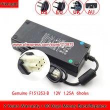 Подлинная 12v 1125a 135w f151353 b адаптер переменного тока