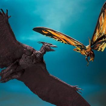 2020 Gojira S.H. Monsterarts Rodan and Mothra King of the Monsters Movie Action Figures Anime Model for Kids Children Gift цена 2017