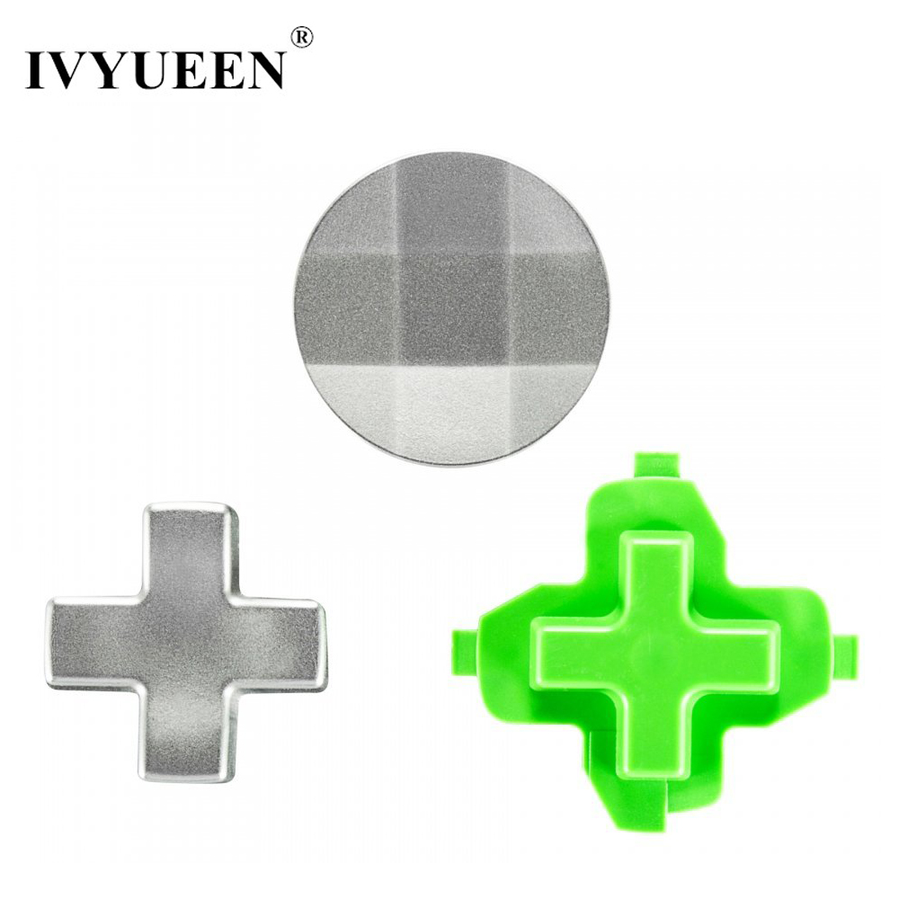 IVYUEEN 3 in 1 for Microsoft Xbox One Elite X S Slim Controller Magnetic Metal Stainless Steel D-pad Kits Video Game Accessories