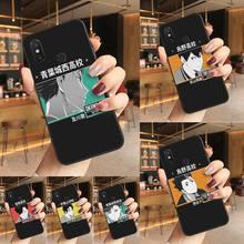 Haikyuu Aesthetic art Phone Case Phone Case For Redmi K20 Note 5 7 7a 6 8 Pro note 8T 9 Xiaomi Mi 8 9 SE Fundas Capa Back Cover