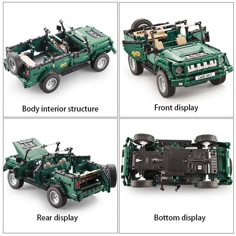 Cada C51015 RC Truck Car